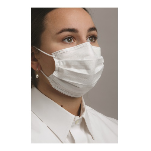 Defend Level 3 Dual Fit Ear-Loop Face Mask (Pleated)